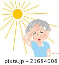 シニア 熱中症 夏 21684008