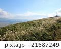 カルデラ 風景 阿蘇の写真 21687249