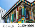 シンガポール リトルインディア カラフルの写真 21694669