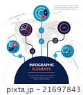 要素 元素 分子のイラスト 21697843
