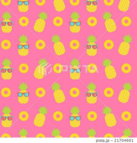 Cute pineapple seamless pattern background 21704601 cute pineapple seamless pattern background voltagebd Choice Image