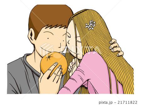 オレンジデーのイメージイラスト 21711822