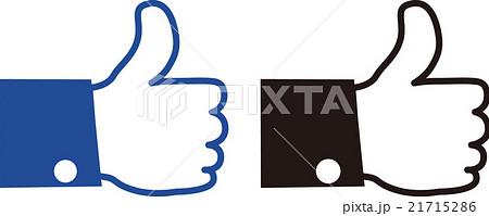 いいねのイラスト素材 21715286 Pixta