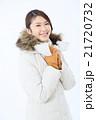 コート 冬 若いの写真 21720732