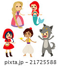 妖精 物語 組み合わせのイラスト 21725588