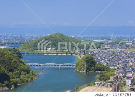 木曽川の風景 21737763
