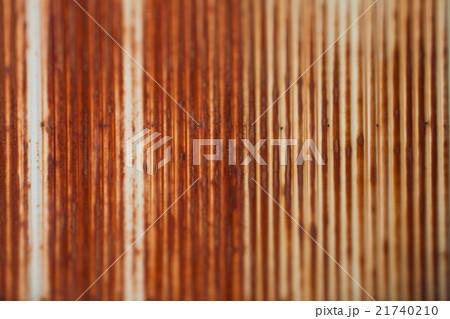錆びたトタンの鉄板, ぼかし 21740210