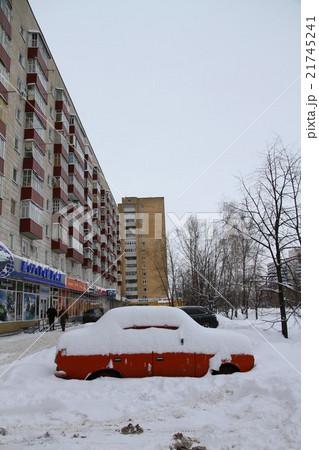 ロシアの集合住宅 21745241