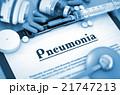 肺炎 診療 医療のイラスト 21747213