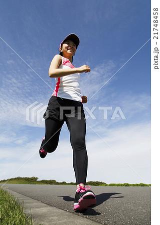 ジョギング 21748458
