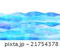 波の背景 21754378