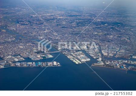 東京 東京湾 航空写真 21755302