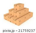 煙突 木箱 BOXのイラスト 21759237