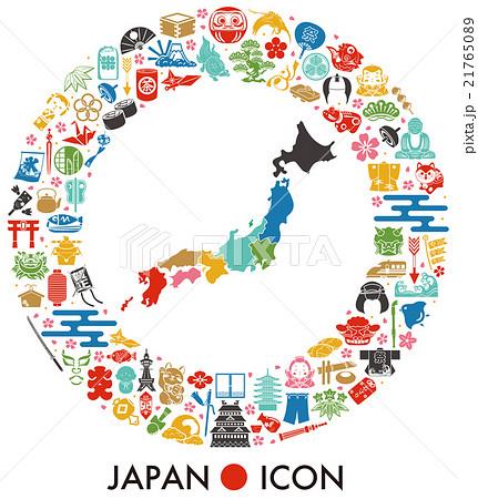 日本 アイコン 21765089