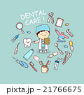 dentist doctor with dentist tools 21766675