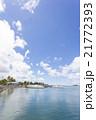 グアム ヨットハーバー 海の写真 21772393
