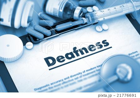 Deafness. Medical Concept. 21776691