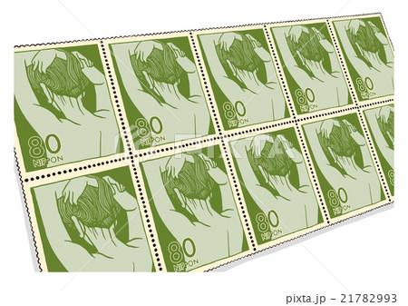 切手のイメージイラスト 21782993