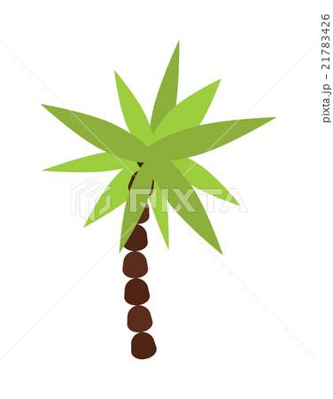 Palm , summer tree tropical beach illustration. のイラスト素材 [21783426] - PIXTA