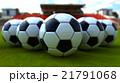 サッカーボール サッカー ボールのイラスト 21791068