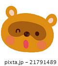 たぬき キャラクター 21791489