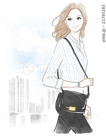 働く女性のイメージのイラスト素材 21795283 Pixta