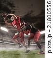 アメリカンフットボール スタジアム 選手の写真 21800556