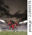 アメリカンフットボール スタジアム 選手の写真 21800576