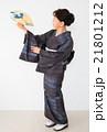 着物の女性  21801212