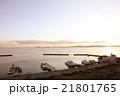 琵琶湖の夜明け 21801765