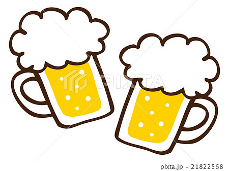 ビールのイラスト素材