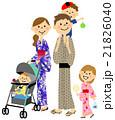 家族でお祭り 21826040