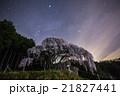 乙ヶ妻のシダレザクラと夏の大三角形 21827441