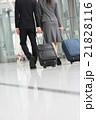 出張 ビジネスマン ビジネスウーマンの写真 21828116