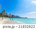 【ハワイ】ホノルル・ワイキキビーチ 21832622