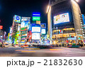 渋谷 東京 スクランブル交差点の写真 21832630