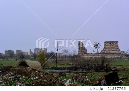 アゼルバイジャン・アルメニア戦争の前線地帯・ナゴルノカラバフ/アグダムの廃墟 21837766