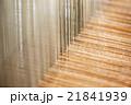 織物 機織り 糸の写真 21841939