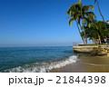ワイキキ ビーチ 海の写真 21844398