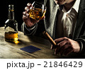 Drinking whiskey at night 21846429