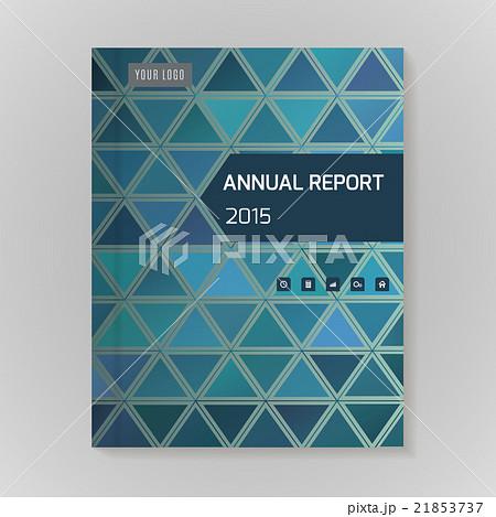 Annual Report Cover vector illustrationのイラスト素材 [21853737] - PIXTA