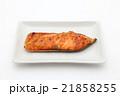 鮭 焼き魚 魚料理の写真 21858255