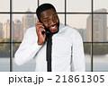男 ビジネスマン 実業家の写真 21861305