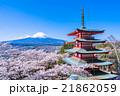 日本を象徴する風景【山梨県・新倉山浅間公園】 21862059