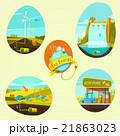 エネルギー エコ 生態のイラスト 21863023