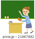 働く人々 いろいろな職業(学校の先生、教師) 21867882