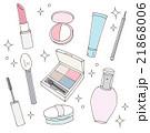 化粧品 コスメ イラストのイラスト 21868006