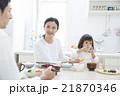 ライフスタイル 家族 食事の写真 21870346
