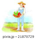 人物 農業 21870729