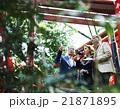 寺を観光する外国人旅行客 21871895